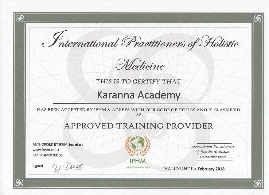 certificat iphm karanna