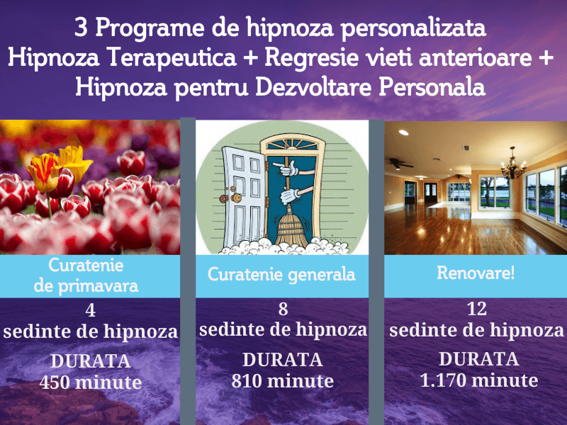 Youzign Program Combinat De Hipnoza, Regresie &Amp; Consiliere - Curatenie Generala