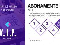 Abonamente VIP