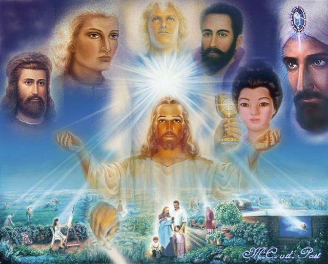 Ascended Masters5 Maestrii Spirituali Ascensionati