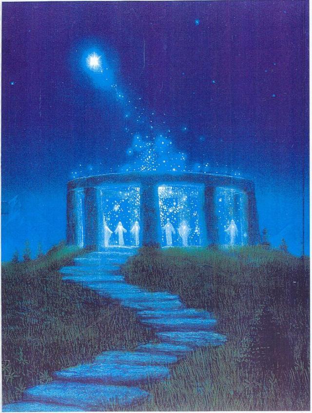 Artistic Concept Of Atlantis Vechile Civilizatii - Atlantida, Lemuria