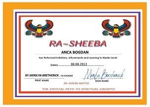 Rasheba Certificate Anca