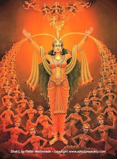 Shakti Dasha Maha Vidya  –  Cele  Zece  Mari  Intelepciuni  Cosmice