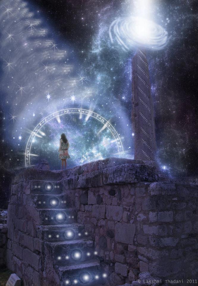 poarta stelara soarele central