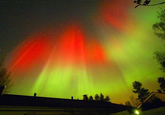 Finland-Aurora Borealis