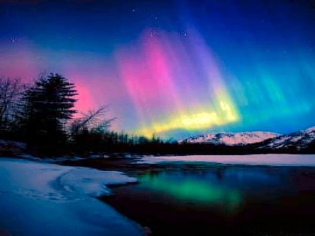 Stiati Ca Aurora Boreala Vibratiile Culorilor - Elementele Culorilor Subtile Si Vibratiile Acestora