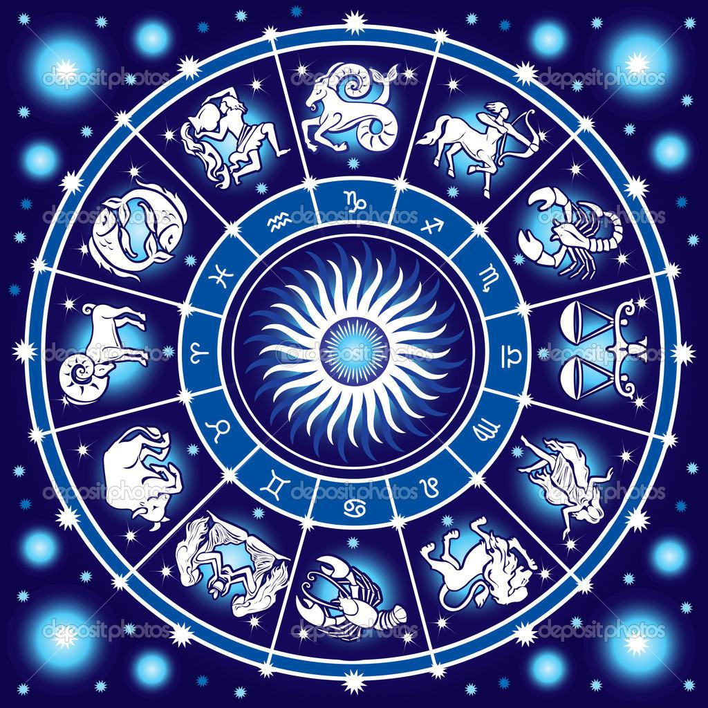 Depositphotos 7605621 Horoscope Circle Cum Va Fi 2019 Din Punct De Vedere Al Numerologiei