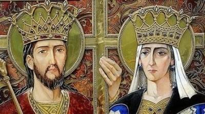 Sfintii Constantin Si Elena Social Constantin Şi Crucea