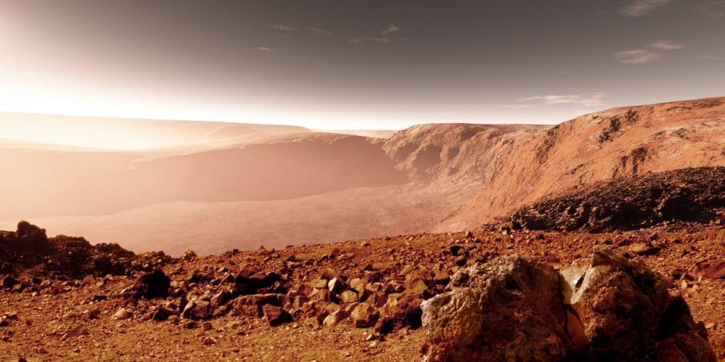 Marte Planeta Marte, O Civilizatie Distrusa Prin Atac Nuclear!