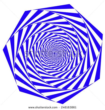 Hexagon Spiral Fibonacci