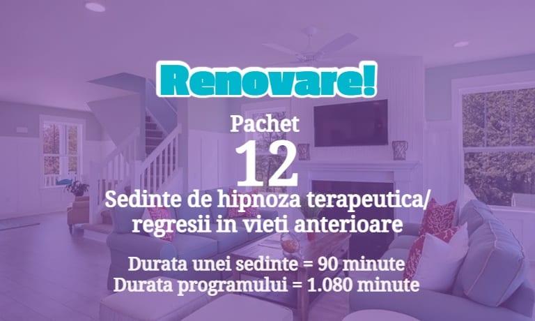 Program Hipnoza Renovare