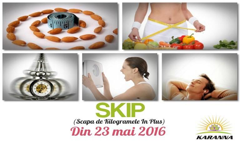 Skip2 Skip - Scapa De Kilogramele In Plus!