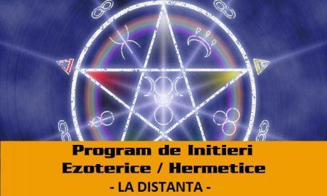 Initieri Hermetice Ezoterice La Distanta Program De Cursuri Si Initieri Ezoterice / Hermetice