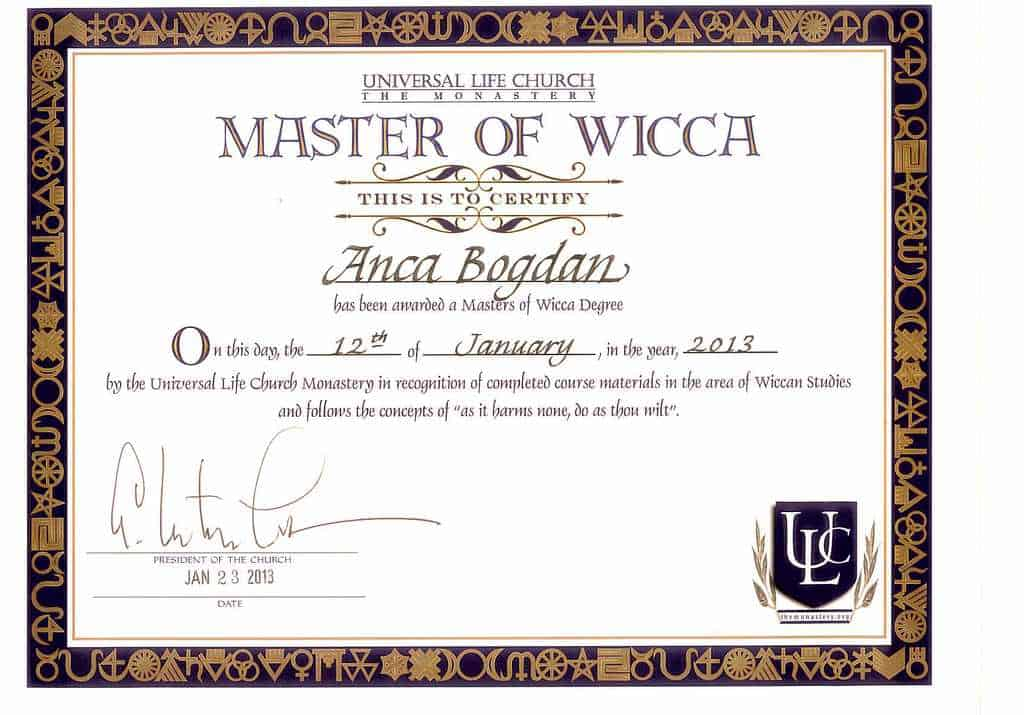 Master Of Wicca