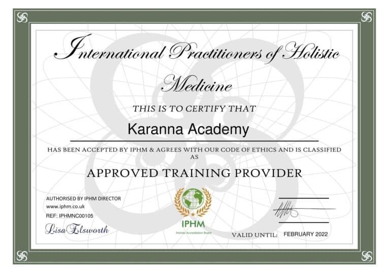 Certificat Karanna Academy