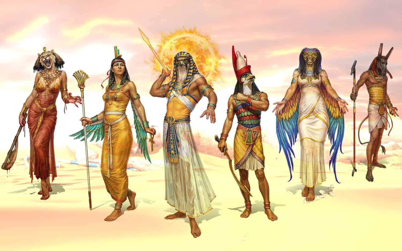 Zei Egipteni 2 Cele 5 Dinastii Ale Egiptului Antic