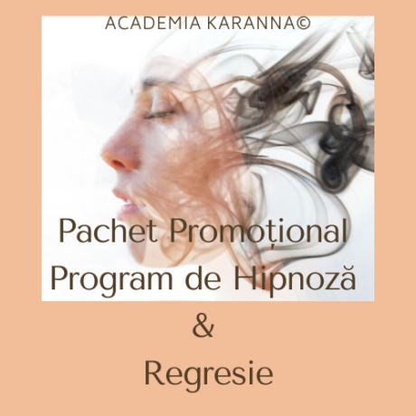 Pachet Promotional Program Hipnoza Si Regresie Primavara