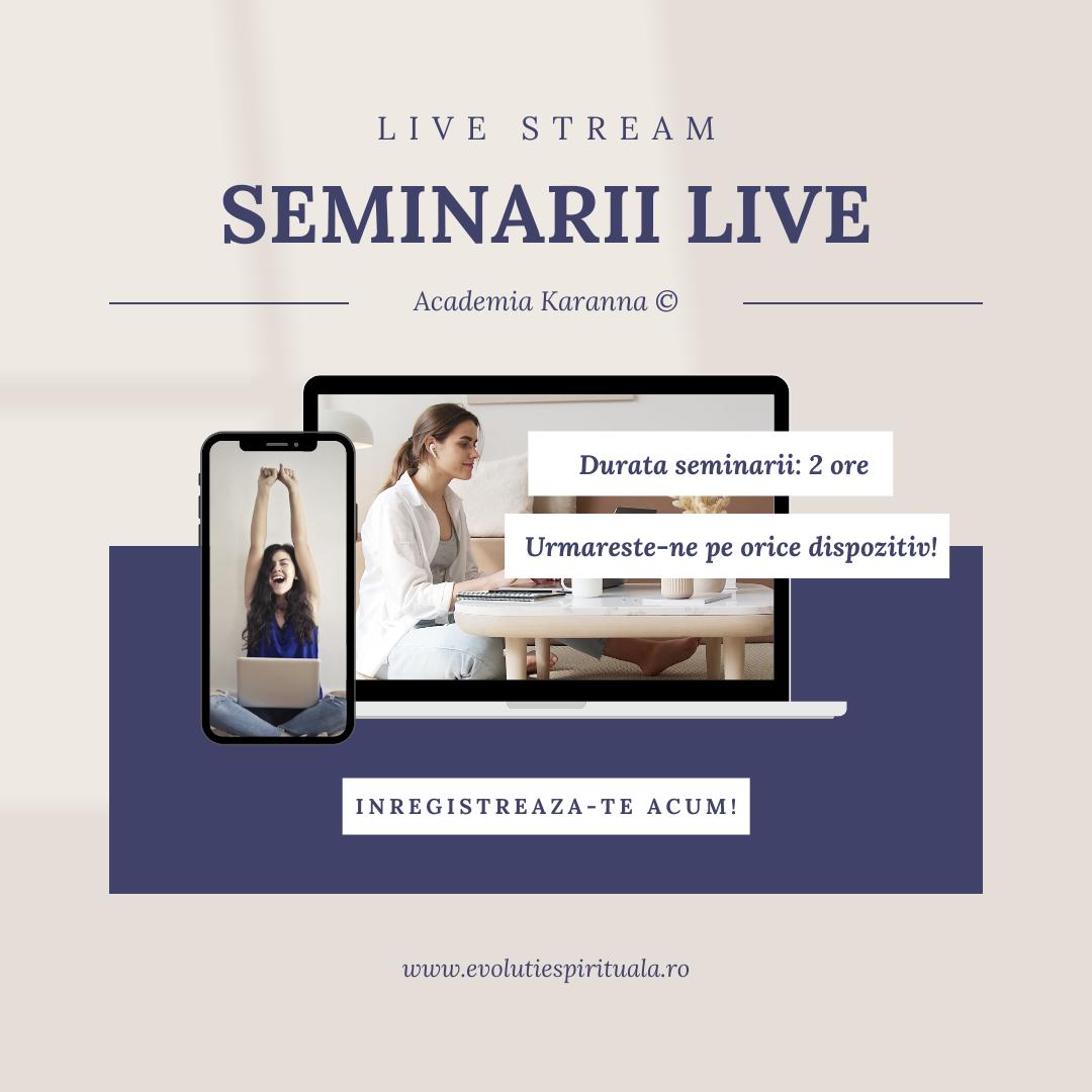 Seminarii Live Karanna